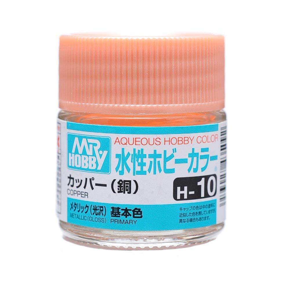 水性ホビーカラー H10 カッパー (銅) メタリック(光沢)