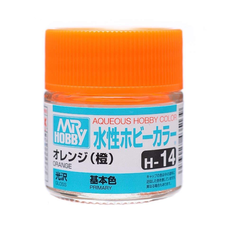 水性ホビーカラー H14 オレンジ (橙) 光沢