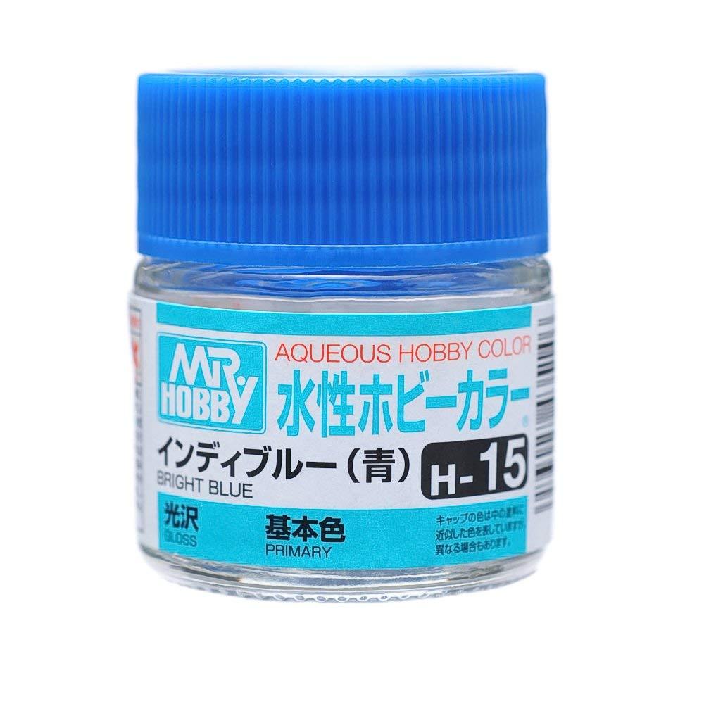 水性ホビーカラー H15 インディブルー 光沢