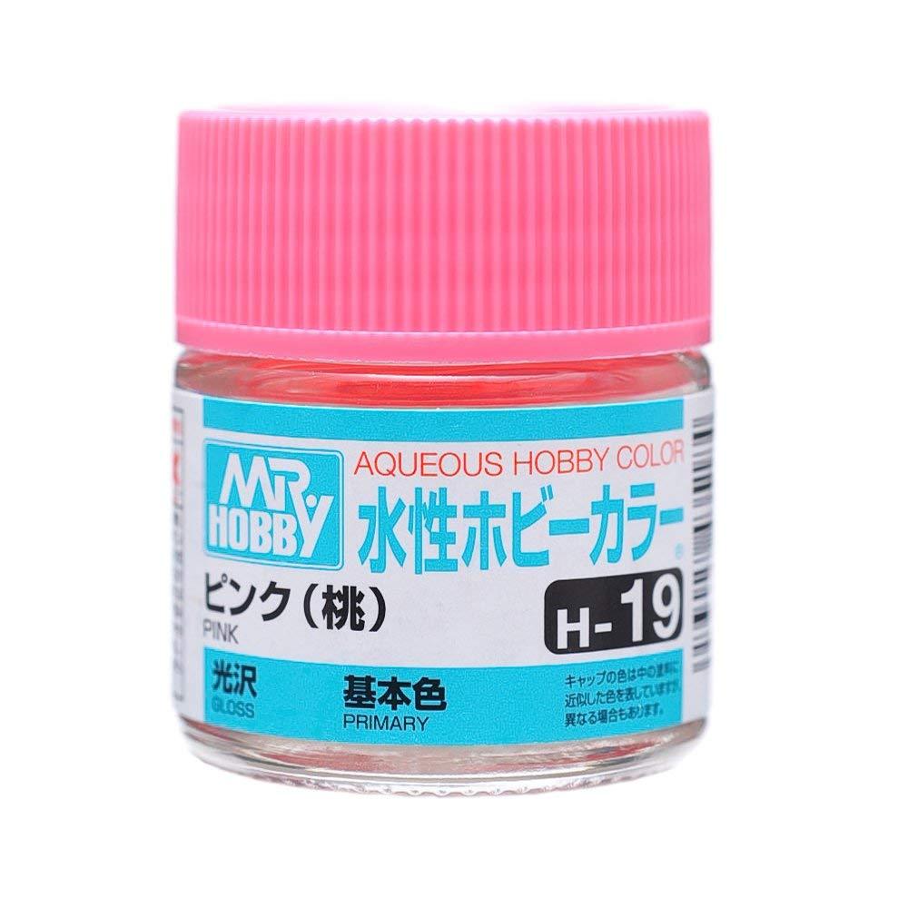 水性ホビーカラー H19 ピンク (桃色) 光沢