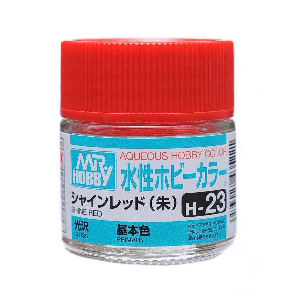 水性ホビーカラー H23 シャインレッド 光沢