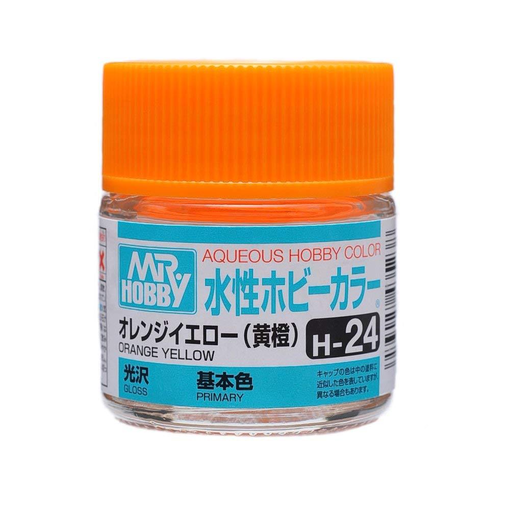 水性ホビーカラー H24 オレンジイエロー (黄橙) 光沢