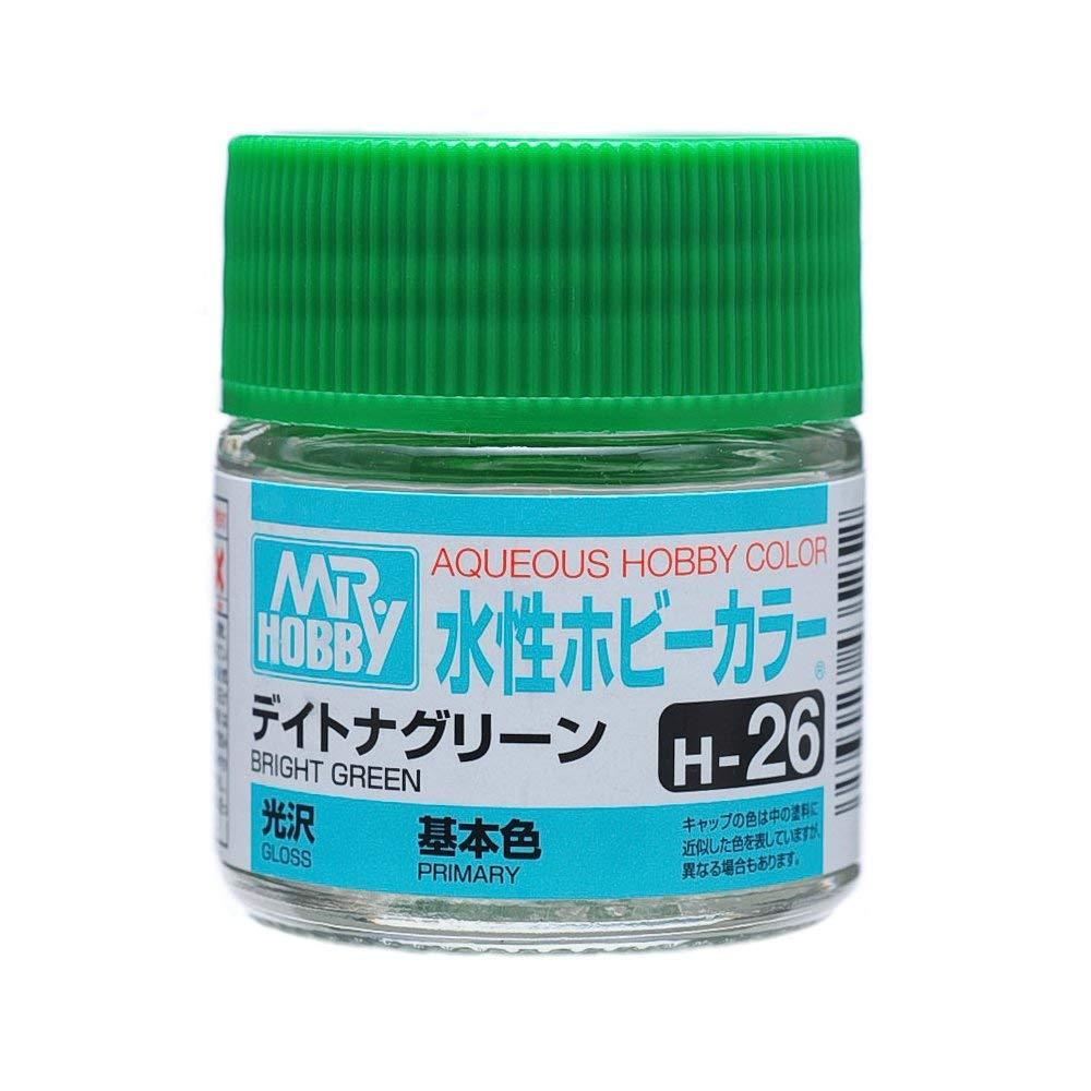 水性ホビーカラー H26 デイトナグリーン 光沢