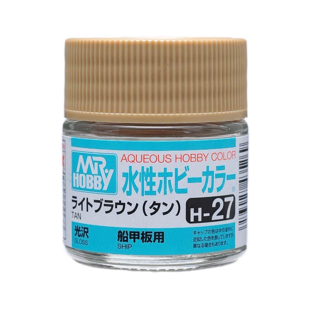 水性ホビーカラー H27 ライトブラン (タン) 光沢