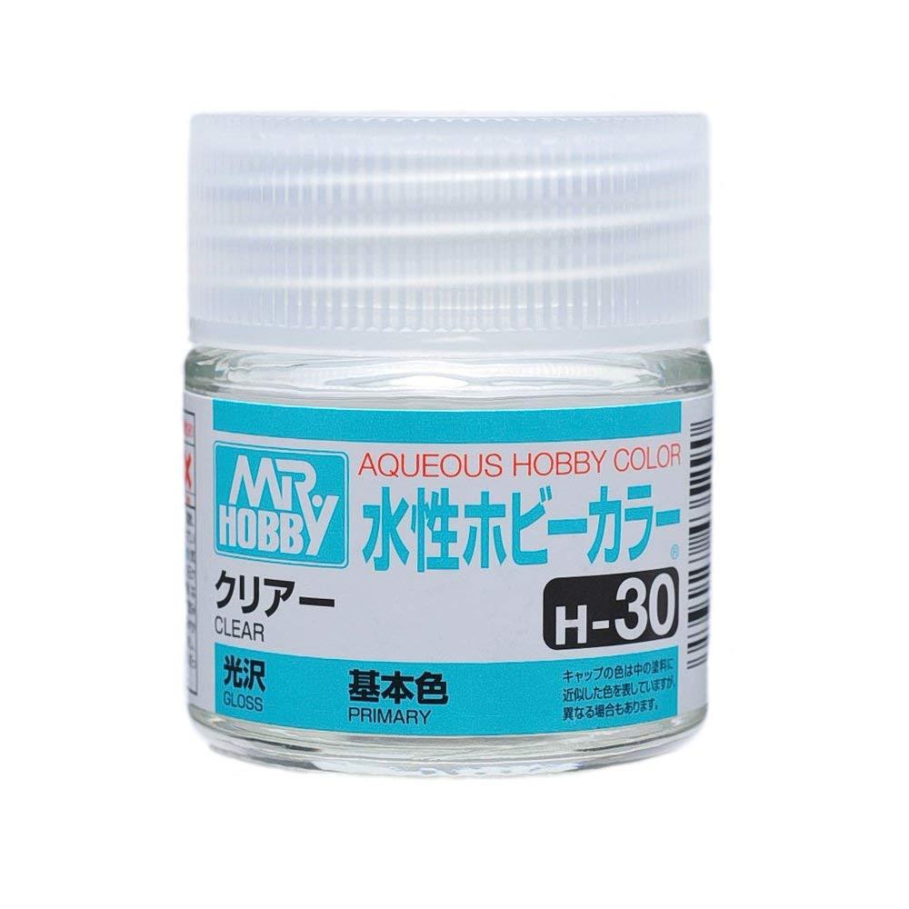 水性ホビーカラー H30 クリアー 光沢