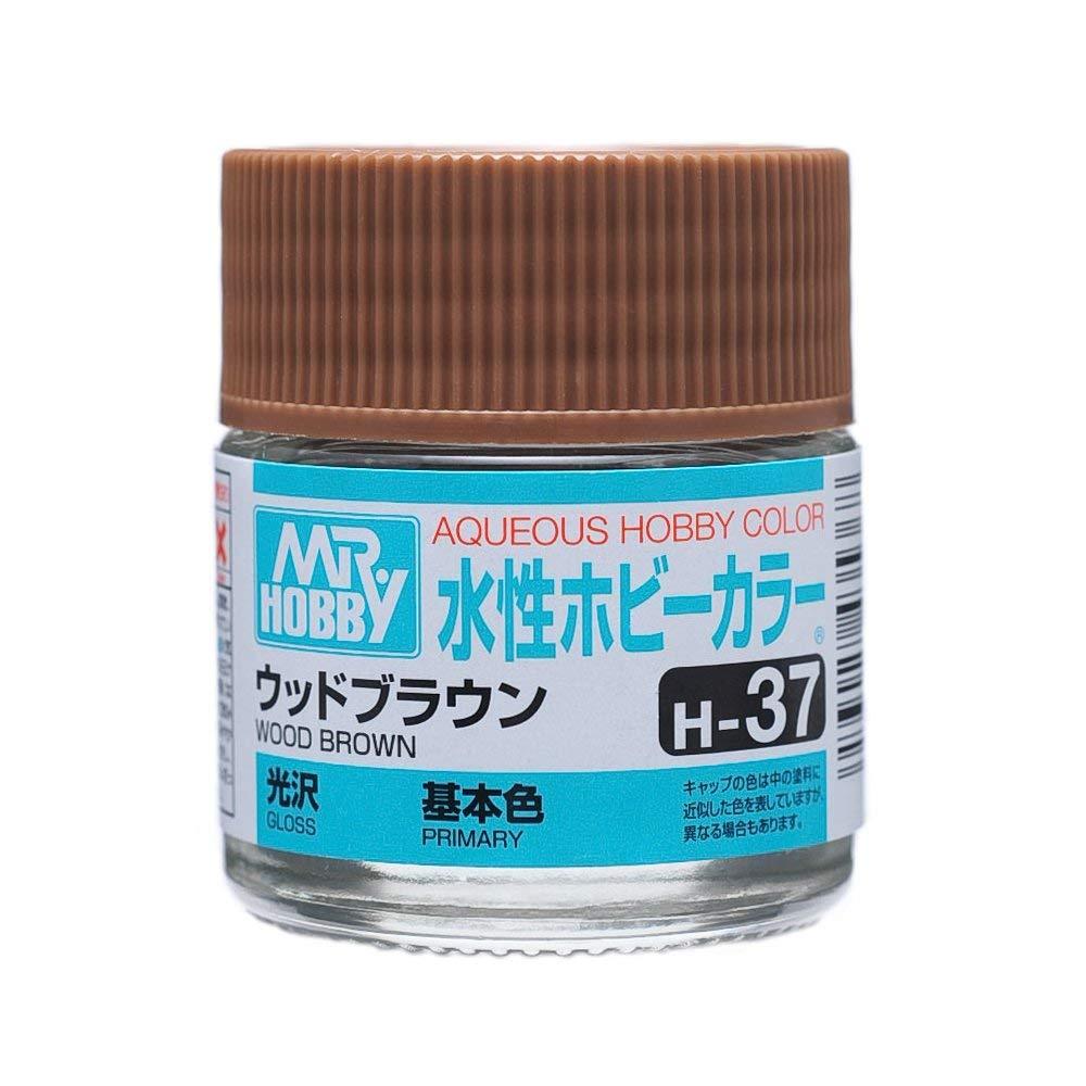 水性ホビーカラー H37 ウッドブラウン 光沢