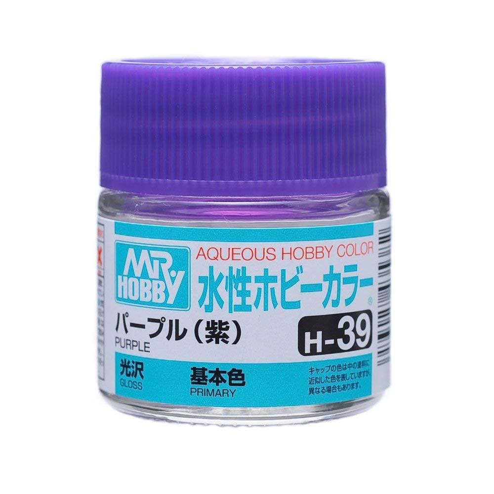 水性ホビーカラー H39 パープル (紫) 光沢