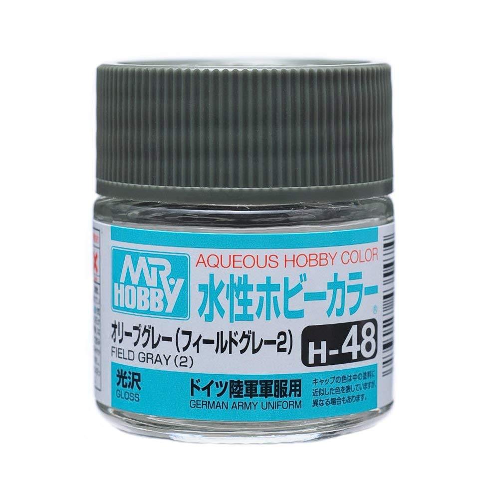 水性ホビーカラー H48 オリーブグレー 光沢