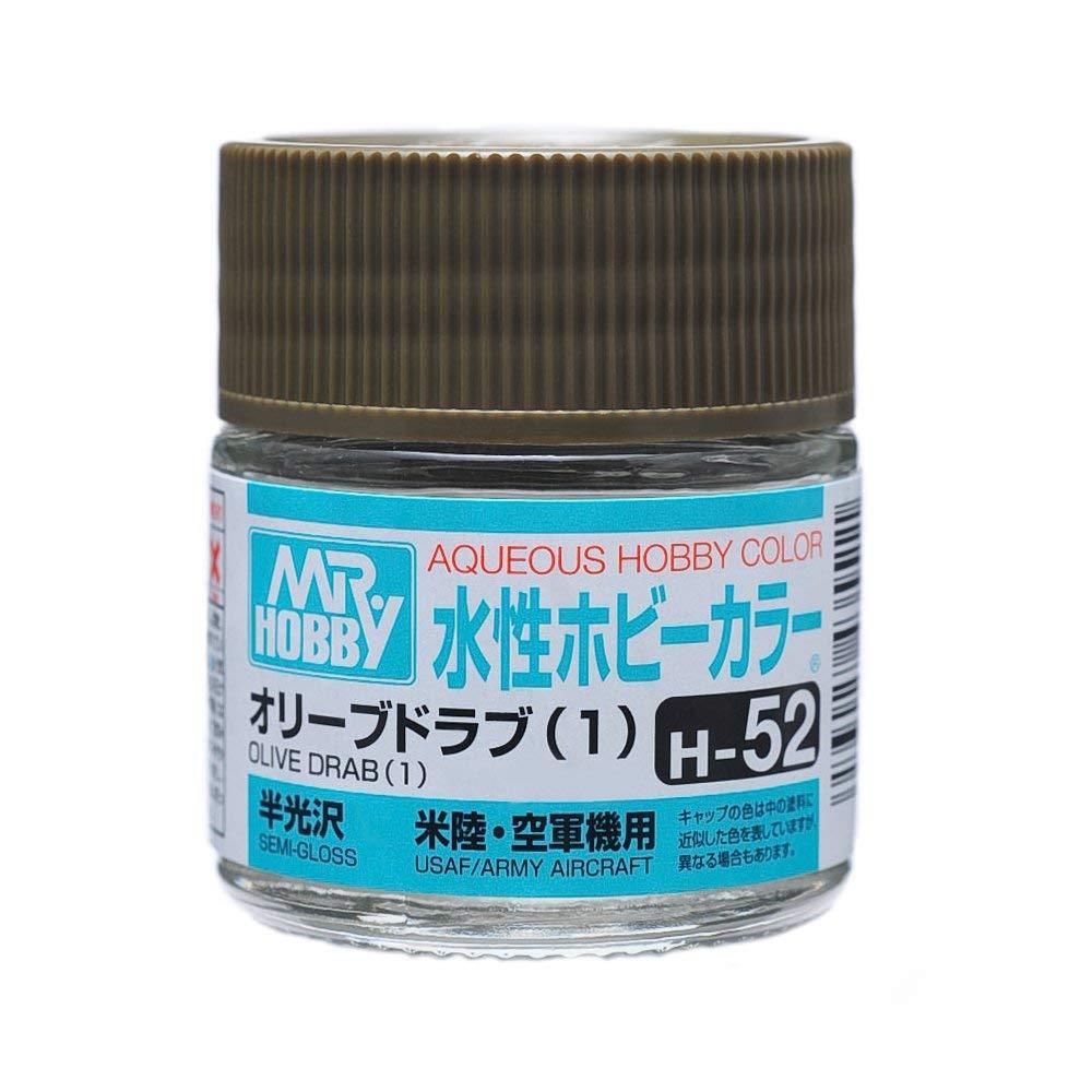 水性ホビーカラー H52 オリーブドラブ (1) 半光沢