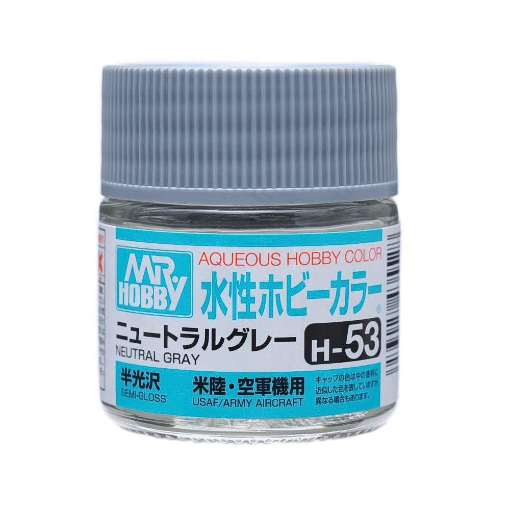 水性ホビーカラー H53 ニュートラルグレー 半光沢