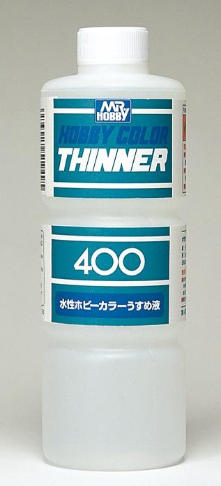 水性ホビーカラーうすめ液 400ml T111