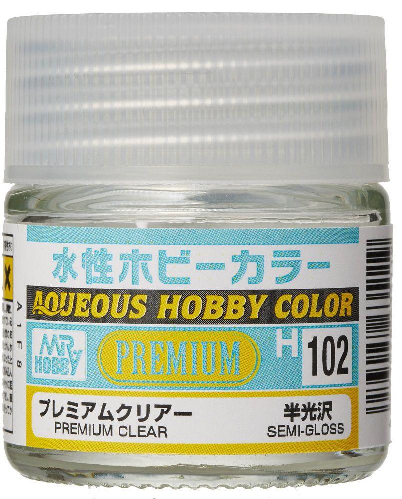 GSIクレオス 水性ホビーカラー H102 プレミアムクリアー(半光沢)
