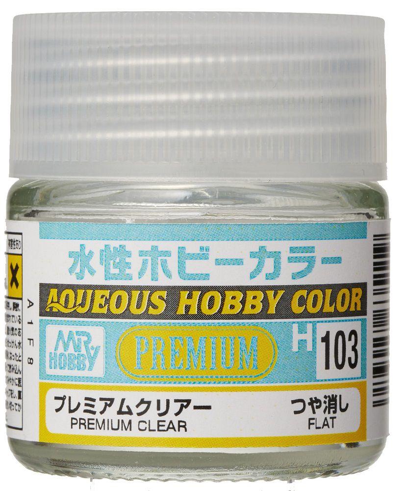 GSIクレオス 水性ホビーカラー H103 プレミアムクリアー(つや消し)