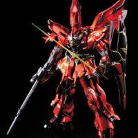 MG 1/100 MSN-06S シナンジュ Ver.Ka チタニウムフィニッシュ 公式画像1