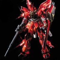 MG 1/100 MSN-06S シナンジュ Ver.Ka チタニウムフィニッシュ 公式画像4