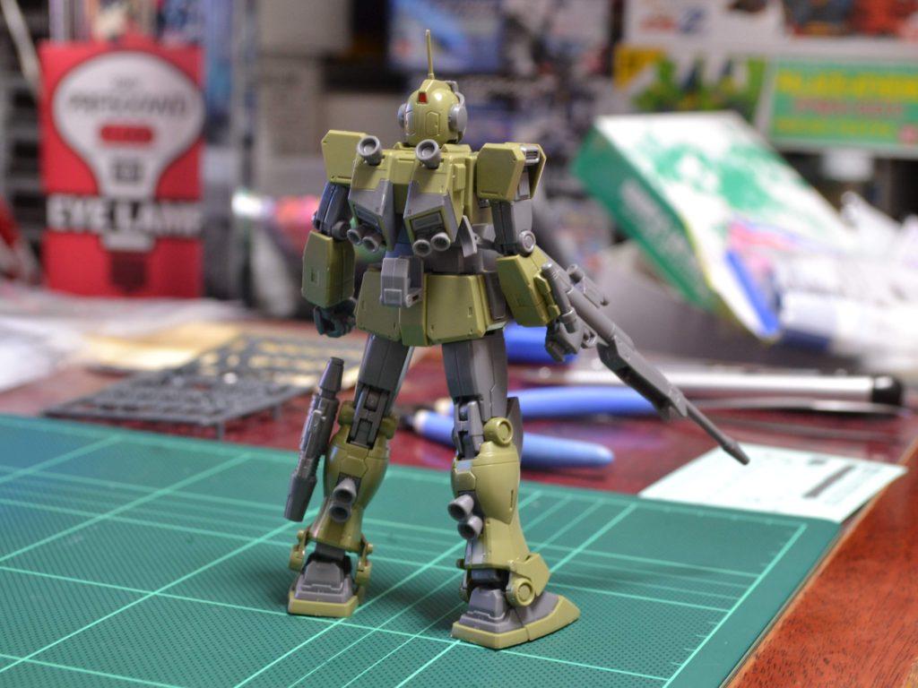 HG 1/144 RGM-79SC ジム・スナイパーカスタム 背面