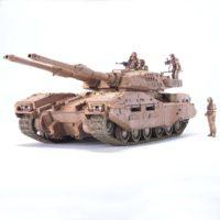U.C.HARD GRAPH 006 1/35 地球連邦軍 61式戦車5型 セモベンテ隊 公式画像3