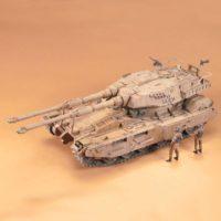 U.C.HARD GRAPH 006 1/35 地球連邦軍 61式戦車5型 セモベンテ隊 公式画像7