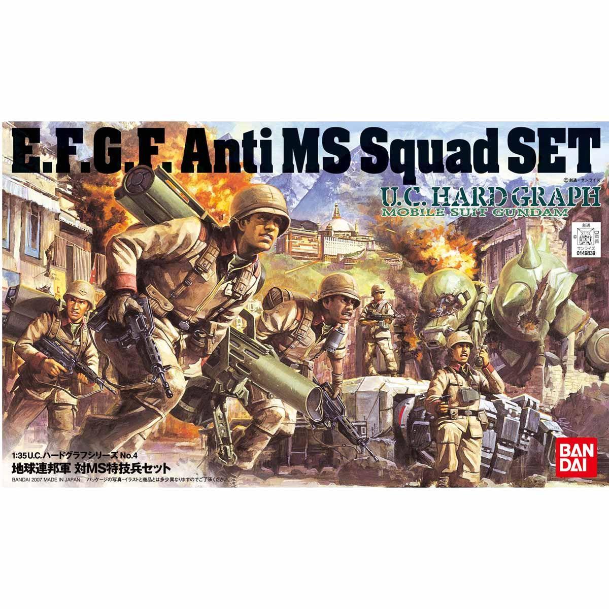 U.C.HARD GRAPH 004 1/35 地球連邦軍 対MS特技兵セット