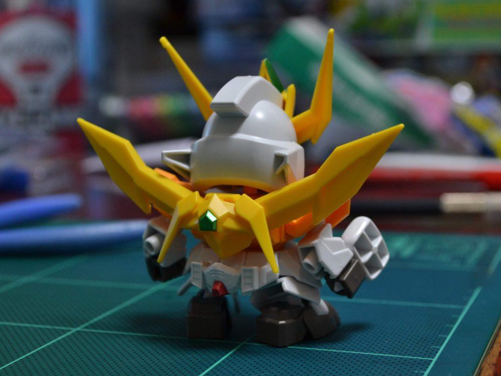 ミニプラ スーパーショックガンダム No.01 ショックガンダム 背面