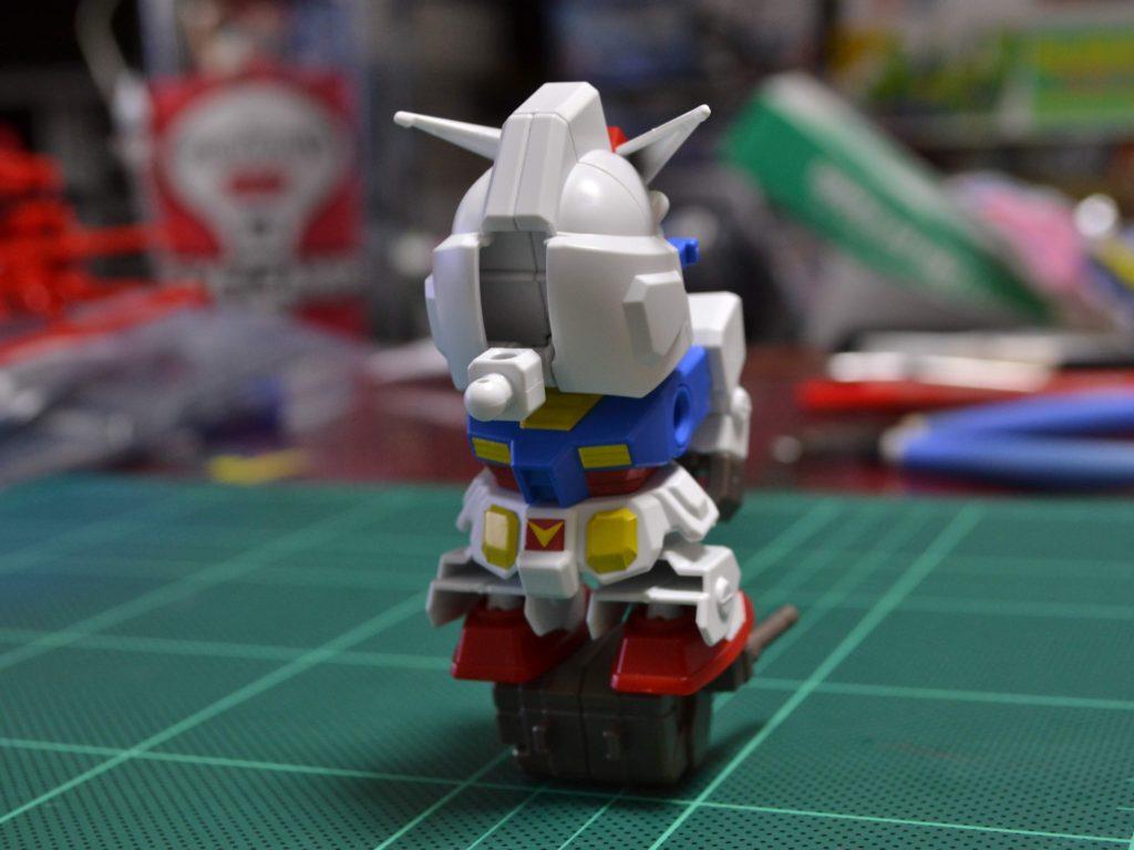 ミニプラ スーパーショックガンダム No.02 SGガンダム 正面