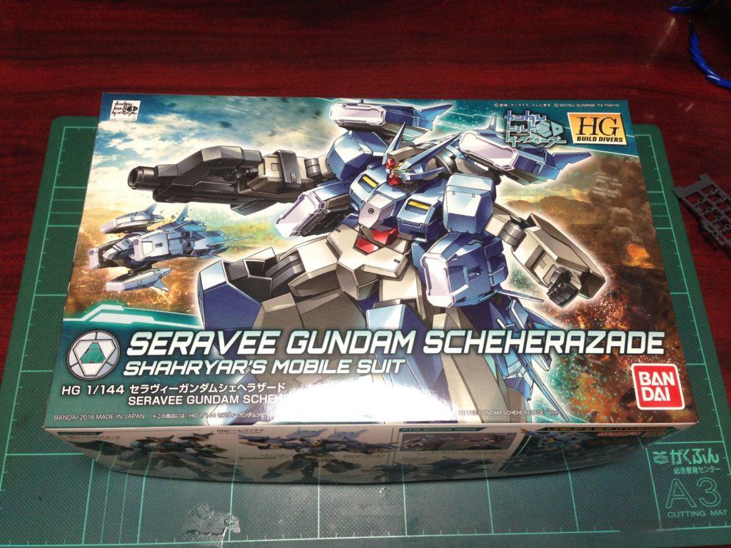 HGBD 006 1/144 GN-1001N セラヴィーガンダムシェヘラザード [Seravee Gundam Scheherazade] パッケージ