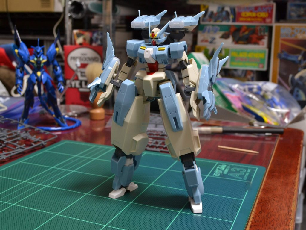 HGBD 006 1/144 GN-1001N セラヴィーガンダムシェヘラザード [Seravee Gundam Scheherazade] 正面