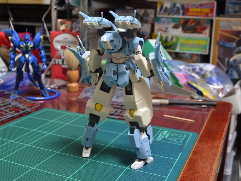 HGBD 006 1/144 GN-1001N セラヴィーガンダムシェヘラザード [Seravee Gundam Scheherazade] 背面