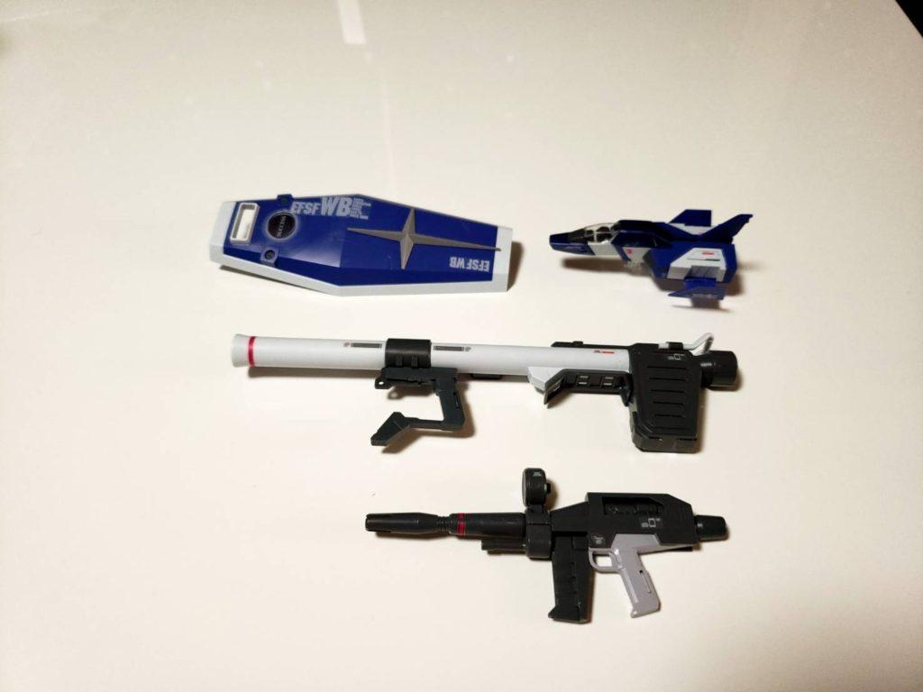MG 1/100 ガンダム Ver.3.0 サクセスオリジナルカラーモデル [Gundam Ver.3.0 Success Original Color Model] セット内容