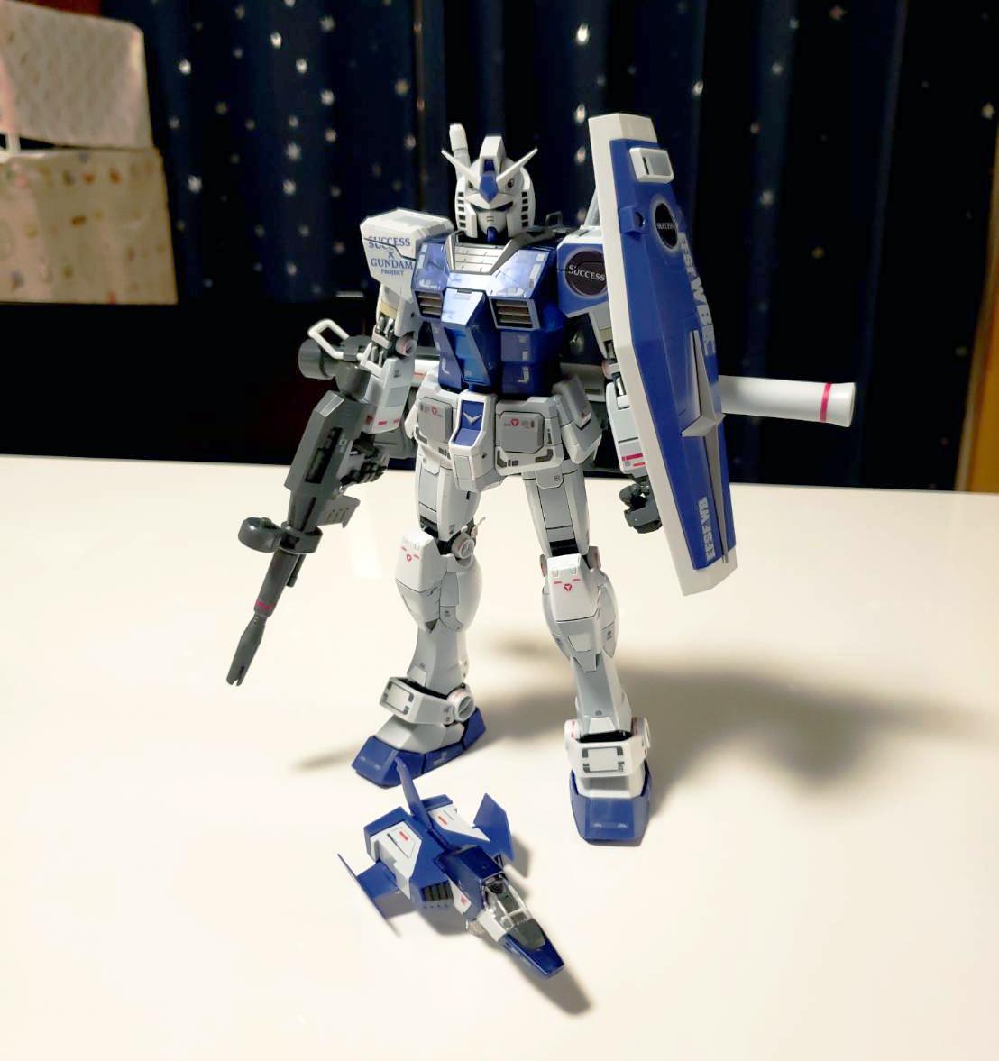 MG 1/100 ガンダム Ver.3.0 サクセスオリジナルカラーモデル [Gundam Ver.3.0 Success Original Color Model]