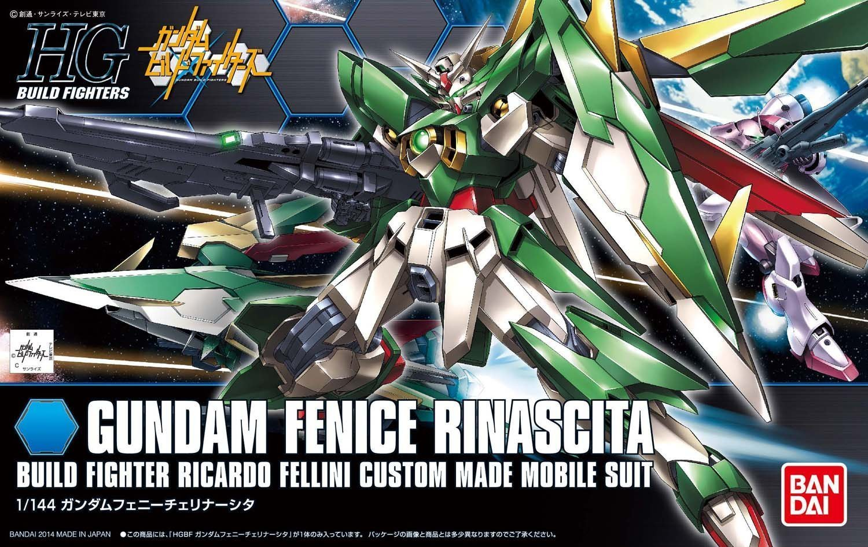 HGBF 1/144 XXXG-01Wfr ガンダムフェニーチェリナーシタ [Gundam Fenice Rinascita] 0191405 5059563 4543112914057 4573102595638