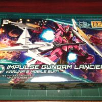HGBD 1/144 インパルスガンダムランシエ [Impulse Gundam Lancier]