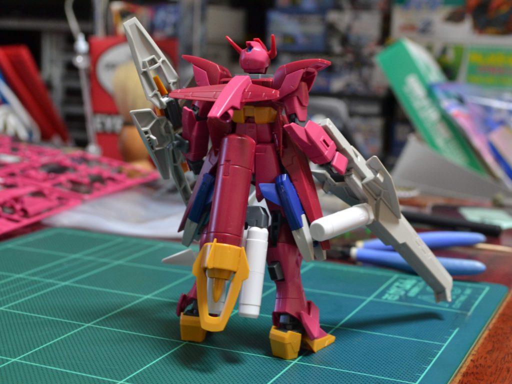 HGBD 1/144 インパルスガンダムランシエ [Impulse Gundam Lancier] 背面