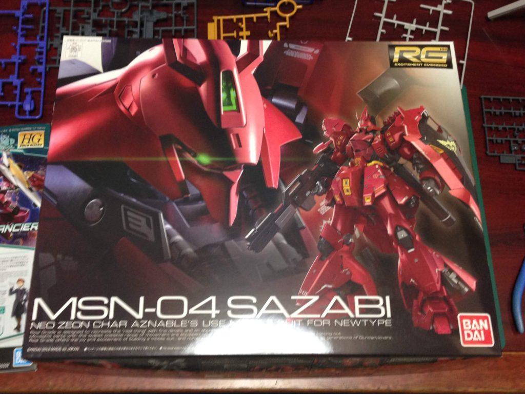 RG 1/144 MSN-04 サザビー[Sazabi] パッケージ