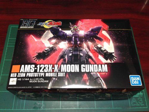 HGUC 1/144 AMS-123X-X ムーンガンダム [Moon Gundam]