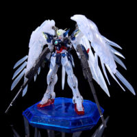"RG 1/144 ガンダムベース東京限定 ウイングガンダムゼロ EW [クリアカラー] ""The Gundam Base Tokyo Limited Wing Gundam Zero EW [Clear Color]"""