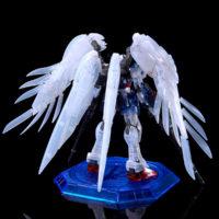 "RG 1/144 ガンダムベース東京限定 ウイングガンダムゼロ EW [クリアカラー] ""The Gundam Base Tokyo Limited Wing Gundam Zero EW [Clear Color]"" 公式画像2"