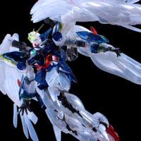 "RG 1/144 ガンダムベース東京限定 ウイングガンダムゼロ EW [クリアカラー] ""The Gundam Base Tokyo Limited Wing Gundam Zero EW [Clear Color]"" 公式画像3"