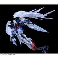 "RG 1/144 ガンダムベース東京限定 ウイングガンダムゼロ EW [クリアカラー] ""The Gundam Base Tokyo Limited Wing Gundam Zero EW [Clear Color]"" 公式画像4"