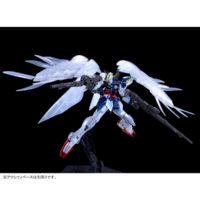 "RG 1/144 ガンダムベース東京限定 ウイングガンダムゼロ EW [クリアカラー] ""The Gundam Base Tokyo Limited Wing Gundam Zero EW [Clear Color]"" 公式画像5"