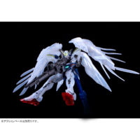 "RG 1/144 ガンダムベース東京限定 ウイングガンダムゼロ EW [クリアカラー] ""The Gundam Base Tokyo Limited Wing Gundam Zero EW [Clear Color]"" 公式画像6"