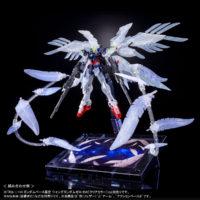 "RG 1/144 ガンダムベース東京限定 ウイングガンダムゼロ EW [クリアカラー] ""The Gundam Base Tokyo Limited Wing Gundam Zero EW [Clear Color]"" 公式画像8"