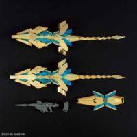 HGUC 1/144 ユニコーンガンダム3号機 フェネクス(デストロイモード)(ナラティブVer.)[ゴールドコーティング] 公式画像3