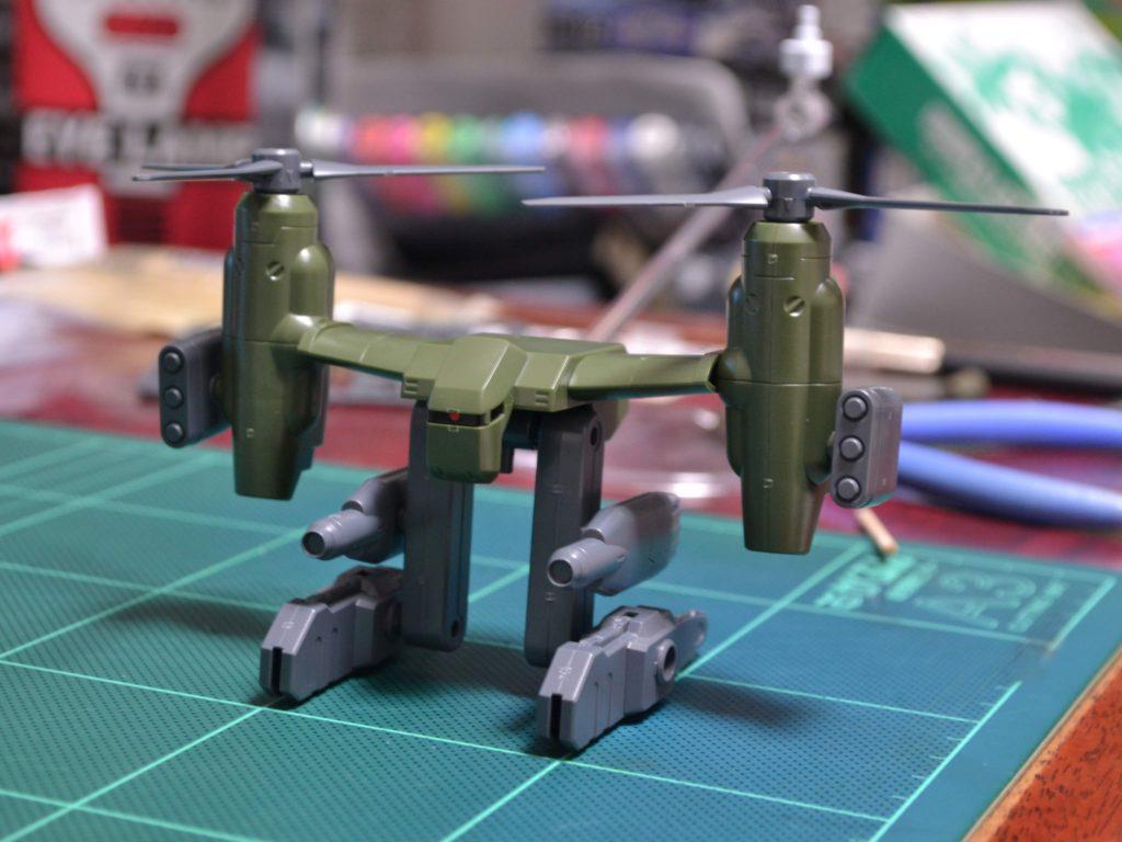 HGBC 037 1/144 ティルトローターパック [Tiltrotor Pack] 正面
