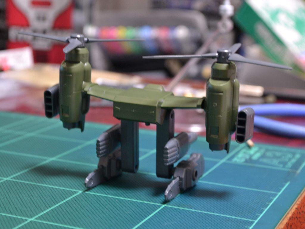 HGBC 037 1/144 ティルトローターパック [Tiltrotor Pack] 背面