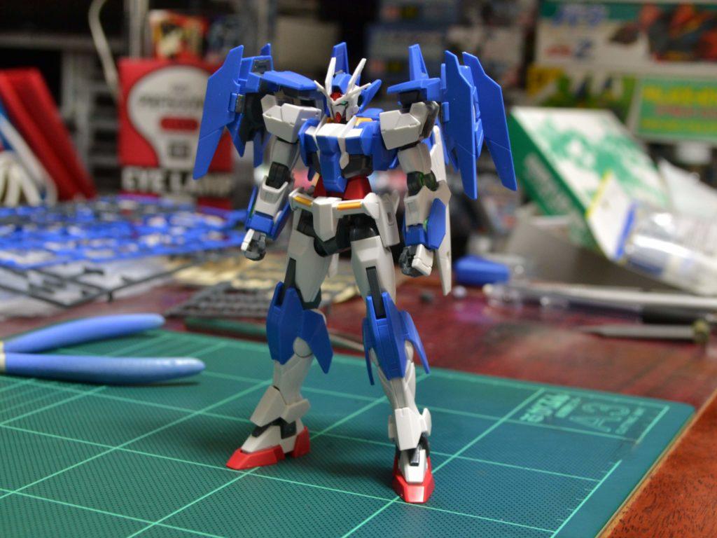 HGBD 1/144 ガンダムダブルオーダイバーエース [Gundam 00 Diver ACE] JAN:4549660257561 正面