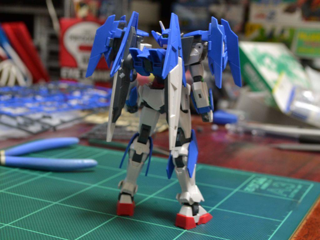 HGBD 1/144 ガンダムダブルオーダイバーエース [Gundam 00 Diver ACE] JAN:4549660257561 背面