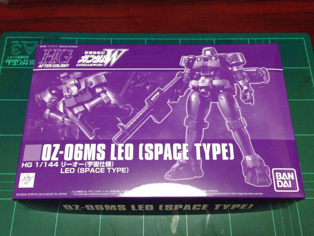 HGAC 1/144 OZ-06MS リーオー (宇宙仕様) パッケージ