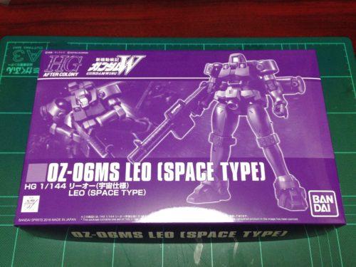 HGAC 1/144 OZ-06MS リーオー (宇宙仕様) [Leo Space Type] JAN:4573102553744