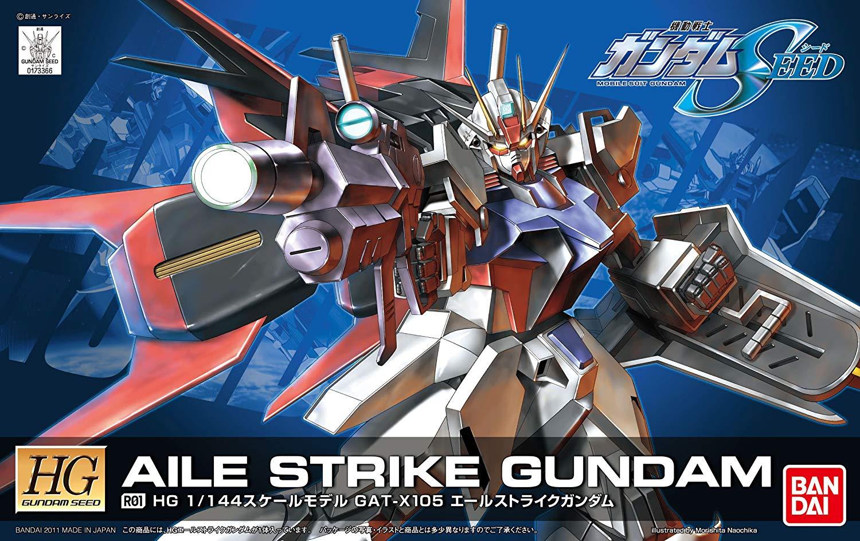 HG 1/144 R01 GAT-X105 エールストライクガンダム [Aile Strike Gundam]